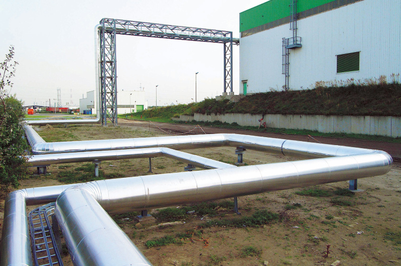 steampipes, heat recovery, indaver+